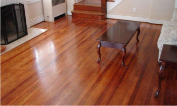 Hardwood Floor Buff And Coat St Paul